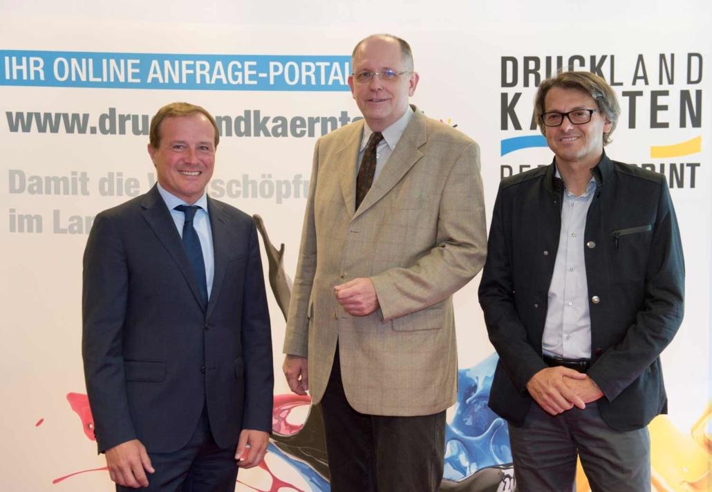 Druckland Kärnten Pressekonverenz